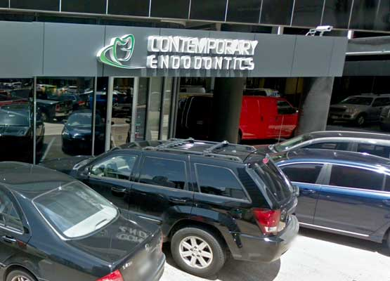 Contemporary Endodontics Galleria Entrance